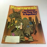 Newsweek Magazine: August 18 1980 - The Democrats Can They Get It Together?