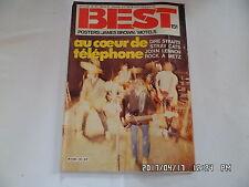 BEST N°151 02/1981 TELEPHONE JOHN LENNON BURNING SPEAR DIRE STRAITS       H26