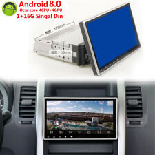 """Android 8.0 1 DIN 9""""  Touch Screen Bluetooth USB DVD CD Car Stereo Radio 1080P"""