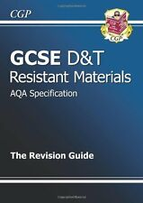 GCSE Design & Technology Resistant Materials AQA Revision Guide,CGP Books
