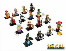 NEW THE LEGO MOVIE 71004 Complete Set of 16 Minifigures