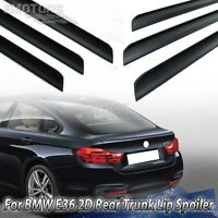 Unpainted Fit For BMW F36 4er Gran Coupe Fastback Rear Trunk Lip Spoiler 2014up
