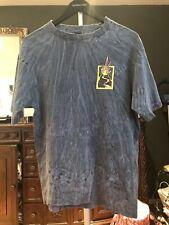 island of fire Shirt Medium Washed Gray Hawaii