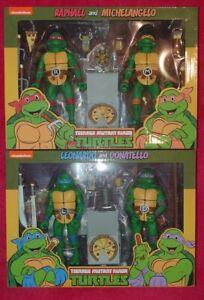 NECA Teenage Mutant Ninja Turtles Leonardo Michelangelo Donatello Raphael TMNT