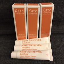 3X Kate Somerville ExfoliKate Intensive Exfoliating Treatment 0.25 oz / 7.5 mL