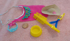 """Accessories for Mattel Barbie Doll's Dog """"Beauty""""  ~1980's"""