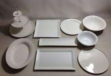 Maxwell & Williams Porcelain Dinnerware Plates