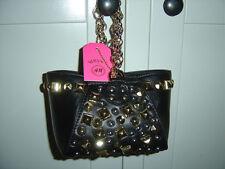 Original Versace for H&M kleine süße Tasche Bag Leder Nieten schwarz *NEU*