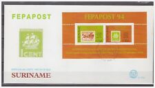 Surinam / Suriname 1994 FDC 177a FEPAPOST postkoets mail-coach S/S