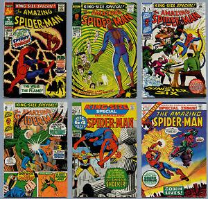 AMAZING SPIDER-MAN LOT AN UNBROKEN RUN OF 25 ANNUALS #4-#28