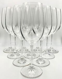 SET OF 10 WATERFORD CRYSTAL WHITE WINE GLASSES, VINTAGE, MARQUIS, EXCELLENT COND