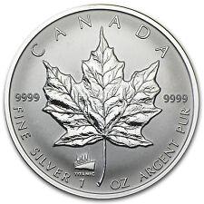 1998 1 oz Silver Canadian Maple Leaf Coin - Titanic Privy Mark - SKU #21130