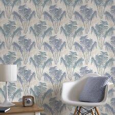 Superfresco Easy Paume Blue Tropical Trail Wallpaper (Was £16)