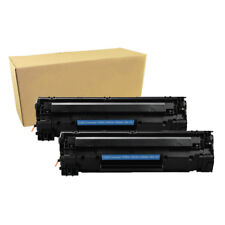 2PK CE285A Black Toner Cartridge for HP 85A LaserJet P1102W M1217nfw MFP