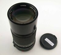 CANON FD 4/200 200 200mm F4 4 IF adaptable A7 MFT NEX top prime lens /18
