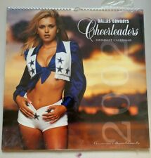 2002 Dallas Cowboys Cheerleaders Swimsuit Calendar - Brand New - UNOPENED