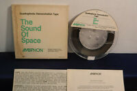 Sound of Space: Quadraphonic Demonstration, QRS 1, 4 track 7.5 IPS Reel To Reel