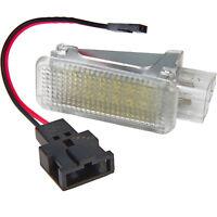 1 Stück LED Einstiegs Fußraum Innenraum Kofferraum Beleuchtung Audi Skoda 7303