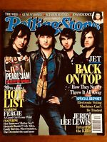 ROLLING STONE AUST DEC 06 Jet, The Who, Guns n Roses, Pearl Jam, Jerry Lee Lewis