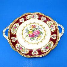 "Royal Albert Lady Hamilton Cake Plate 10 3/4"""