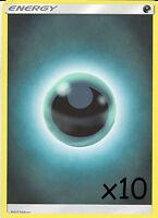 10 X POKEMON DARKNESS ENERGY CARDS - NEW - UNUSED (10 Cards)