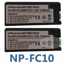2X NP-FC10 NP-FC11 Battery For SONY CyberShot DSC-V1 P2 P3 P5 P8 P10 P9 P12 F77A
