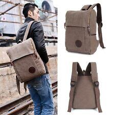 Vintage Herren Tasche Canvas Rucksack Tasche Reisetasche Backpack Schulrucksack1