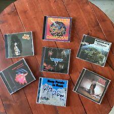 Lot CD Rock (Alice Cooper, Deep Purple, Van Halen, Black Sabbath)