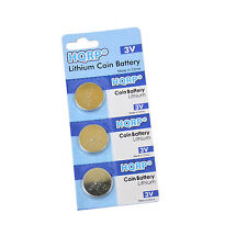 3-Pack 3V Lithium Coin Battery for Polar FT1 FT2 F6 Heart Rate Monitor