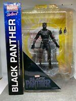 "Marvel Diamond Select Legends Avengers MCU Black Panther 7"" Inch Action Figure"