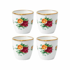 Royal Albert Old Country Roses Set of 4 Eggcups