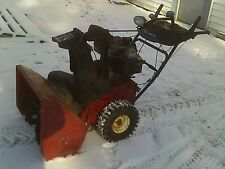 "Toro 826 LE Power Max 2 Stage Snow Thrower Blower 26"" 8HP"