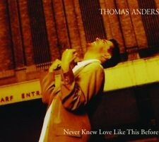 Thomas Anders Never knew love like this before (3 tracks, 1995) [Maxi-CD]