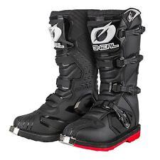ONeal Rider Super Moto Boots Black Enduro Off-Road