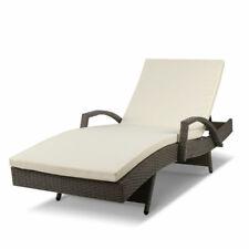 Gardeon Outdoor Sun Lounge Grey