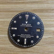 AUTHENTIC VINTAGE ROLEX DIAL GMT MASTER REF 1675 GILT CHAPTER DIAL , RL_658668