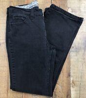 Lee MidRise BootCut Women's Black Jeans Size 10 Medium 28x30