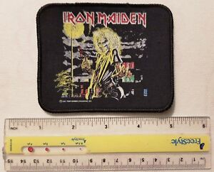 Iron Maiden - Killers - VINTAGE patch - Free Shipping !!!