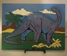 New ListingVintage Connor Brontosaurus Apatosaurus Dinosaur Wooden Puzzle