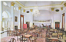 Somerset Postcard - The Pump Room - Bath - Showing Tables and Chairs   XX567