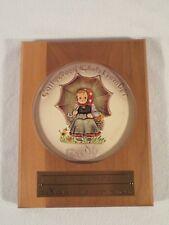 Vintage Goebel Hummel Plate Porcelain ~ 1978 Collectors Club Edition #2
