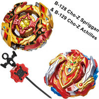 Beyblade Cho-Z Achilles Turbo Burst STARTER SET w/ Launcher B-129 USA SELLER!