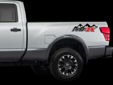 PRO 4X Mountains 4x4 off road Decals Stickers Nissan Titan 2016 - now