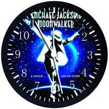 Michael Jackson Black Frame Wall Clock Nice For Decor or Gifts W167