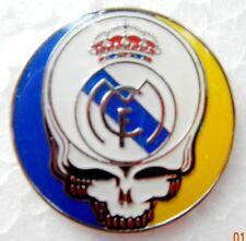 Real Madrid - Lapel Pin - Grateful Dead Stealie - Madrid - Football - Hat Pin