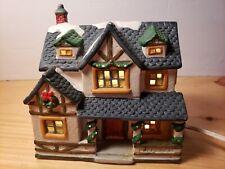 CHRISTMAS LIGHTED DICKENS KEEPSAKE VILLAGE HOUSE 1995