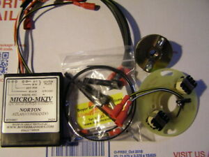 NORTON Boyer Electronic Ignition   750 850 Norton Commando Boyer KIt : 00053