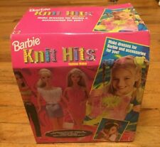 BARBIE KNIT HITS FASHION MAKER BRAND NEW IN BOX DATED 1998 MATTEL