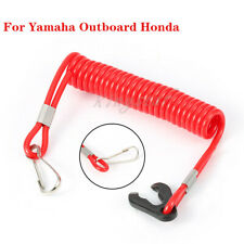 New Boat Motor Kill Stop Switch Safety Lanyard Tether For Yamaha Outboard Honda