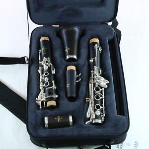 Buffet Crampon Model E12F Intermediate Wood Clarinet SN 1255718 DEMO MODEL
